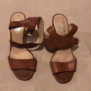 Michael Kors sandal pumps size 7